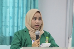 Mahasiswa debat Kompetisi Debat Mahasiswa Indonesia (KDMI) 2019