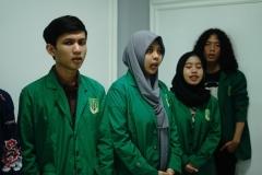 Para peserta National University Debating Championship (NUDC) 2019 dan Kompetisi Debat Mahasiswa Indonesia (KDMI) 2019