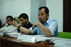 Para juri National University Debating Championship (NUDC) 2019 dan Kompetisi Debat Mahasiswa Indonesia (KDMI) 2019