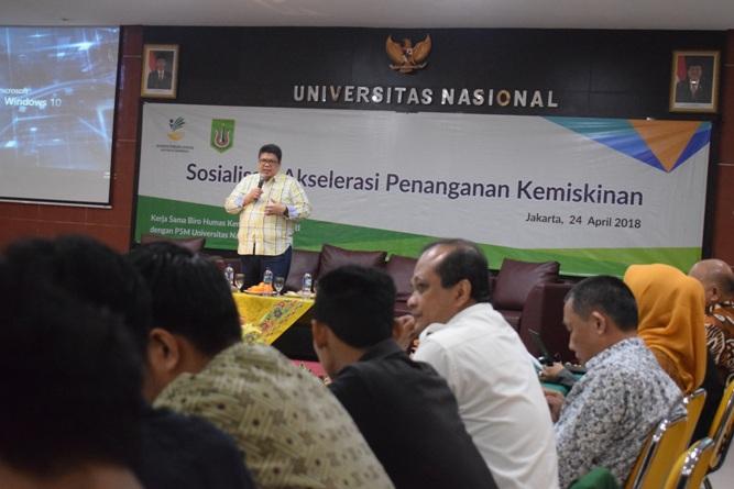 P5M Universitas Nasional Kerjasama dengan Kementerian Sosial RI Adakan Seminar Akselerasi Penanganan Kemiskinan (14)