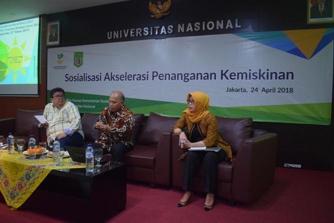 P5M Universitas Nasional Kerjasama dengan Kementerian Sosial RI Adakan Seminar Akselerasi Penanganan Kemiskinan (17)