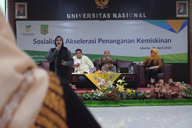 P5M Universitas Nasional Kerjasama dengan Kementerian Sosial RI Adakan Seminar Akselerasi Penanganan Kemiskinan (20)