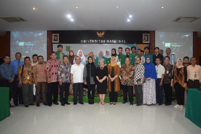 P5M Universitas Nasional Kerjasama dengan Kementerian Sosial RI Adakan Seminar Akselerasi Penanganan Kemiskinan (28)