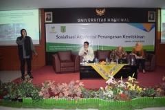 P5M Universitas Nasional Kerjasama dengan Kementerian Sosial RI Adakan Seminar Akselerasi Penanganan Kemiskinan (16)