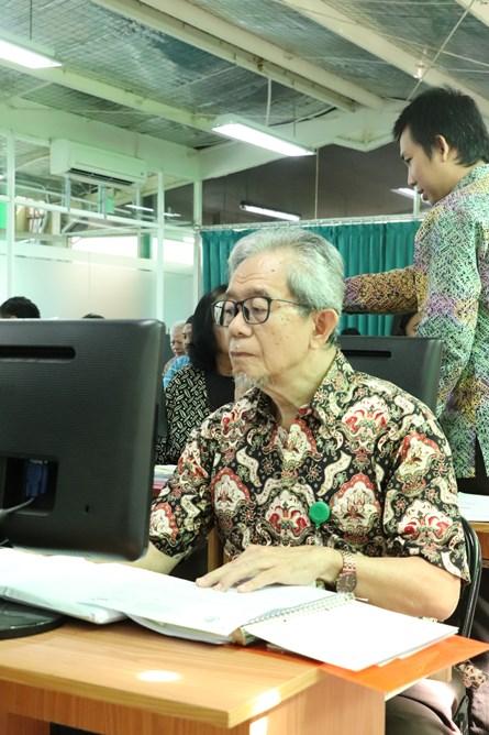 Ketua Tax Center UNAS Drs. Abdul Hadi Achmad, M.Sc