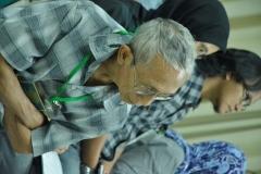 peserta seminar saat grup diskusi