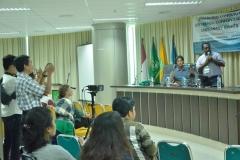 presentasi mengenai wilayah konservasi di Papua Barat