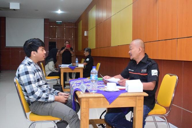 Pelaksanaan Sertifikasi Sektor (PSS) di UNAS (1)