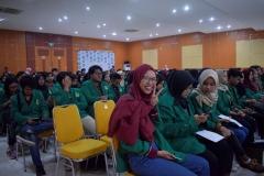 antusiasme mahasiswa dalam pelantikan