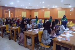 kemeriahan peserta pelatihan BHD