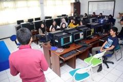 Pelatihan Cyber Security oleh alumni pada Rabu dan Kamis (31-1/7-8) di Laboratorium E-Commerce Fakultas teknologi Komunikasi dan Informatika blok 4 lantai 4 Universitas Nasional