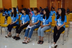 Para peserta pelatihan ICT