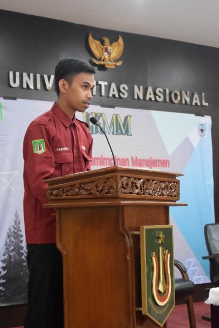 Ketua Umum Himpunan Mahasiswa Keperawatan Yakobus ahufruan