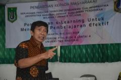 Narasumber Drs. H. Amron Afandi, M.M.