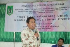 Dekan Fakultas Teknologi Komunikasi dan Informatika Dr. Ucuk Darusalam, S.T., M.T.