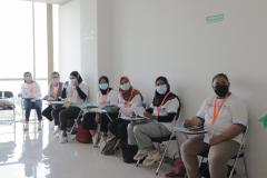 Para peserta pelatihan sedang mengikuti pemberian materi oleh narasumber