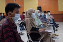 Para peserta pelatihan prakerja psikotest
