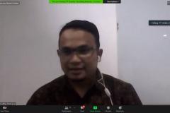 Sambutan dari Ketua ICT Research Center, Aris Gunaryati, S.Si., MMSI.