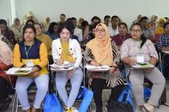 Para mahasiswa saat mengikuti pelatihan preceptorship (2)