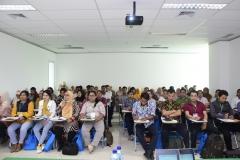 Para mahasiswa saat mengikuti pelatihan preceptorship