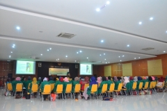 Para peserta seminar pelatihan preceptorship