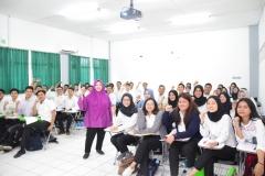 antusiasme para relawan saat mengikuti pelatihan