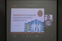 Presentasi materi oleh Ns. Tatang Sutisna, S.Kep., ,M.Kep.