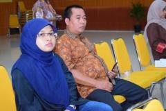 Bu Nur Hayati dan Pak Yatno dalam acara pelepasan FTKI