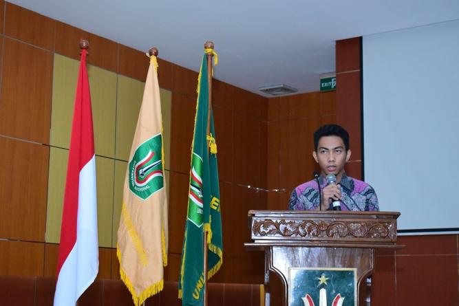 pembacaan doa usai acara oleh Rafi