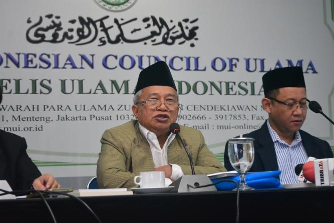 KH Muhyiddin Djunaidi (Ketua Majelis Ulama Indonesia Bidang Hubungan Luar Negeri)