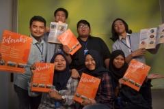Foto Bersama mahasiswa Ilmu Komunikasi dengan Majalah Interaksi (2)