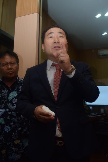 Prof Cho menjelaskan tentang Studio Education Incore dan Hybrid Learnig