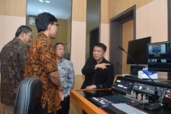 Peresmian Studio Edu Inkor di Universitas nasional 4