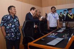 Peresmian Studio Edu Inkor di Universitas nasional