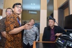 Peresmian Studio Edu Inkor di Universitas nasional 3
