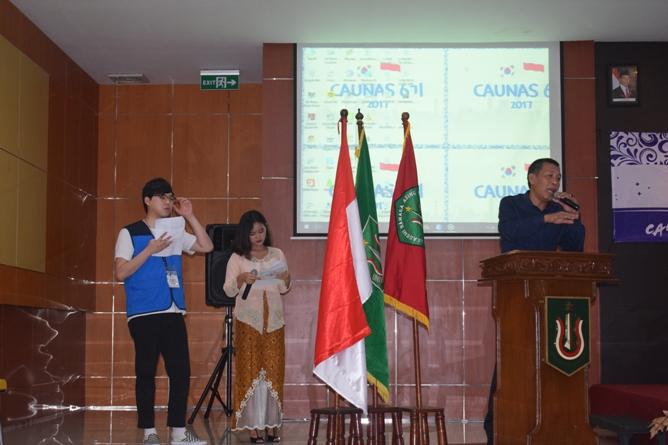 Unas_ Dr. Drs Zainul Djumadin, M.si saat membuka acara