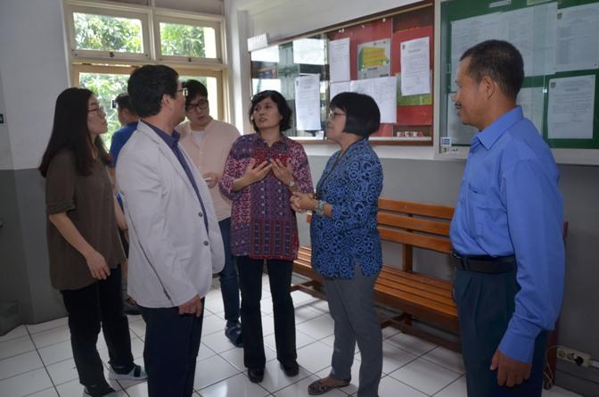 Delegasi Kyungpook Berkeliling Gedung Universitas Nasional 4