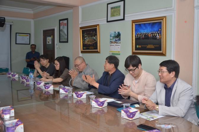 Delegasi kyungpook university (korea selatan) 2