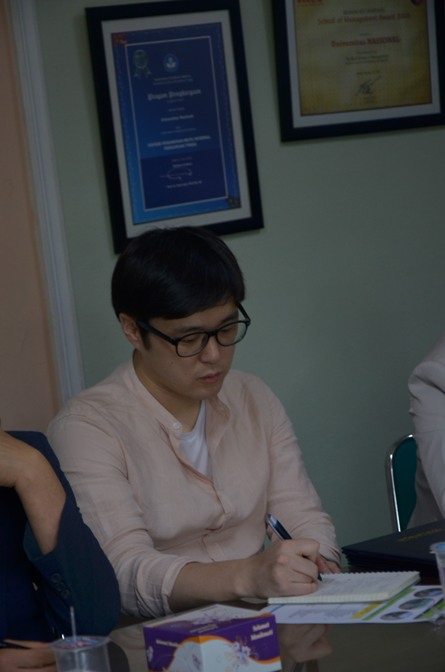 Delegasi kyungpook university (korea selatan) 8
