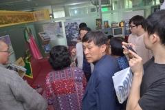 Delegasi Kyungpook Berkeliling Gedung Universitas Nasional 12
