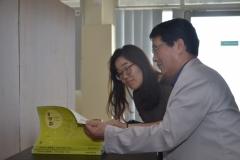 Delegasi Kyungpook Berkeliling Gedung Universitas Nasional 8
