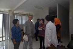 Delegasi Kyungpook Berkeliling Gedung Universitas Nasional 9