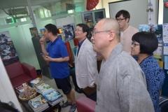 Delegasi Kyungpook Berkeliling Gedung Universitas Nasional 11