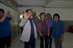 Delegasi Kyungpook Berkeliling Gedung Universitas Nasional 2