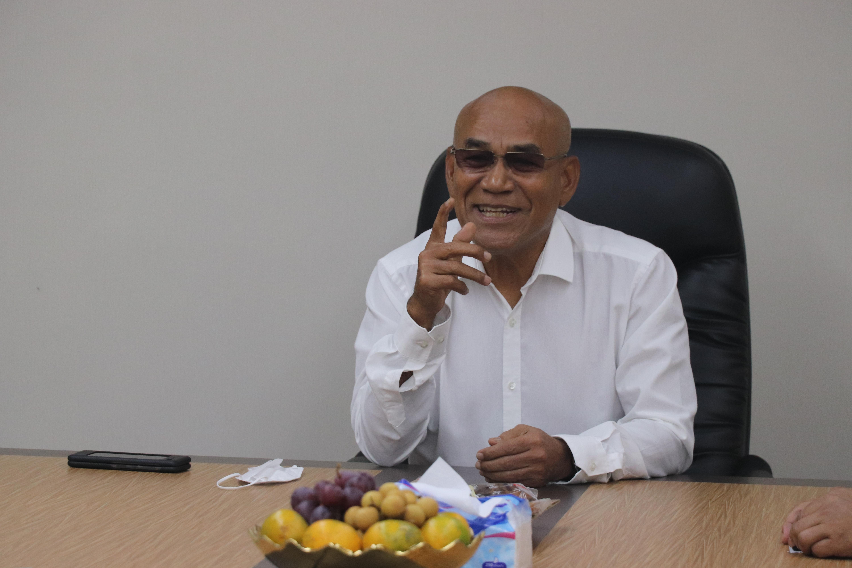 Rektor Universitas Nasional Dr. El Amry Bermawi Putera, M.A. saat Penandatanganan MoU Universitas Nasional dan Institut Teknologi dan Bisnis Ahmad Dahlan pada Kamis 10 Juni 2021 di Ruang 108 UNAS