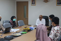 Saat kegiatan Penandatanganan MoU Universitas Nasional dan Institut Teknologi dan Bisnis Ahmad Dahlan berlangsung pada Kamis 10 Juni 2021 di Ruang 108 UNAS