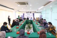 Pada saat acara penandatanganan MoU dan MoA berlangsung di Ruang Seminar Blok 1 Lantai 4 Unas, Rabu 16 Juni 2021