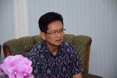 Direktur Korean Cultural Center Indonesia Mr. Chun Youngpoung