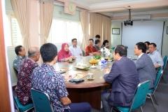 Situasi saat penandatanganan MoU di ruang Rapat Rektorat Blok 1 lantai 1, Selasa (7/1)
