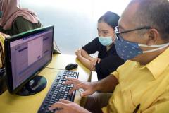 Pengisian SPT Online dosen dan karyawna Unas.